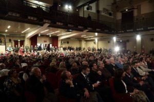 La platea del Don Bosco alla presentazine della lista di Basilicata Possibile