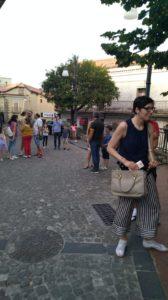 Alcuni partecipanti al flash mob