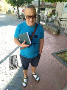 Giovanni D'Agostino, organizzatore del flash mob