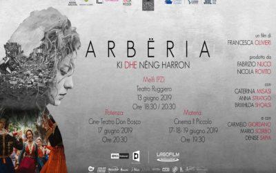 """Arbëria"" di Francesca Olivieri in proiezione a Potenza, Matera e Melfi"