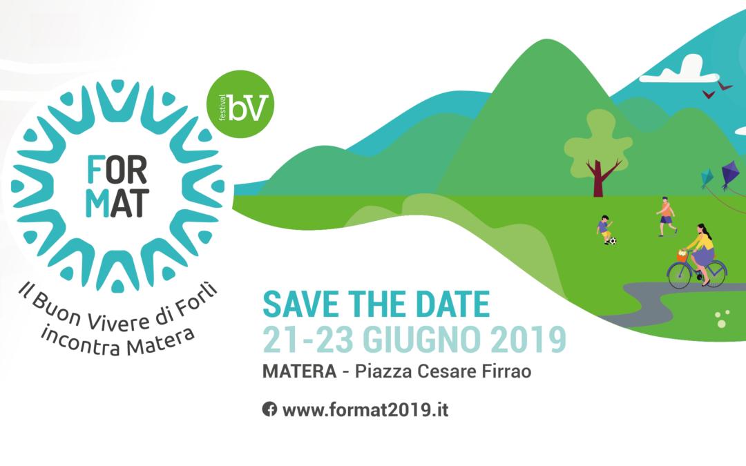 FOR MAT 2019: il Consorzio La Città Essenziale porta a Matera il Buon Vivere di Forlì