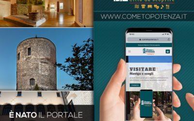 """""""Come to Potenza"""" il portale turistico del capoluogo di Regione"""