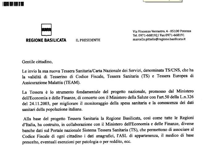 Marcello Pittella è ancora Presidente della Regione Basilicata per Agenzia delle Entrate e Sogei