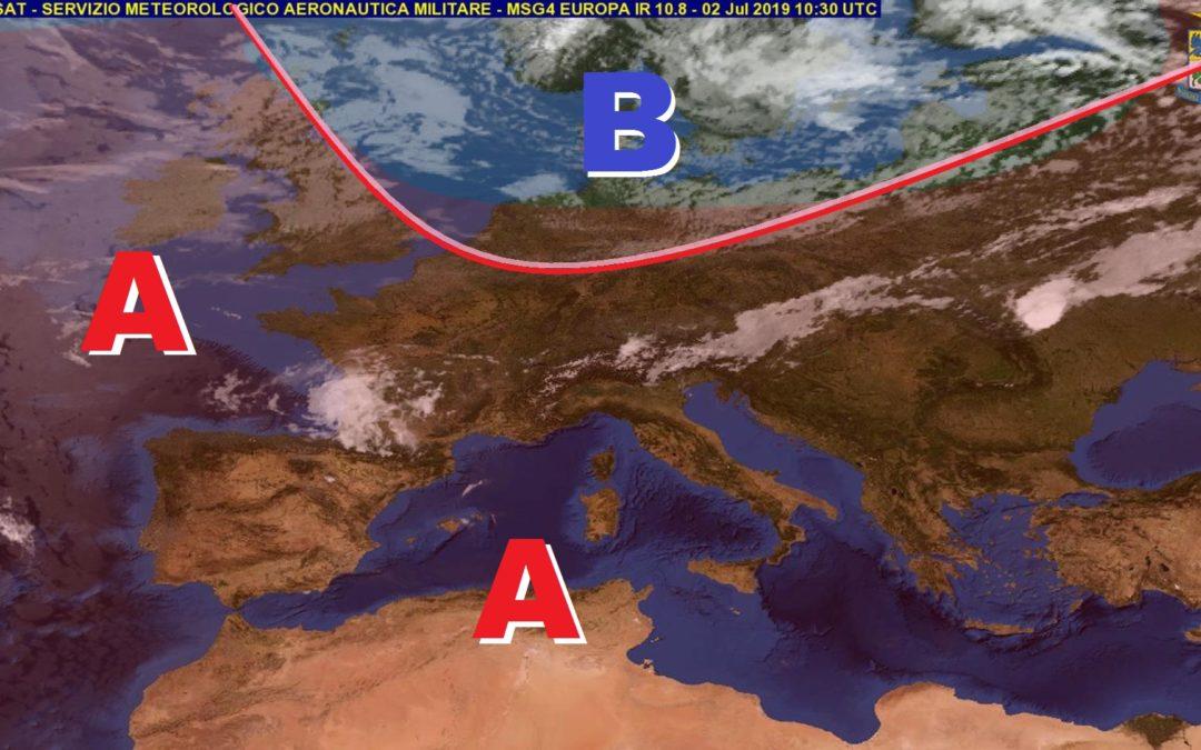 Previsioni meteo in Basilicata nella prima decade di Luglio (a cura di Meteo7.it)