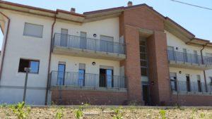 Gli alloggi altamente ecologici consegnati a Filiano