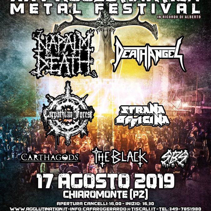 """17 Agosto 2019 a Chiaromonte """"Agglutination Metal Festival"""""""