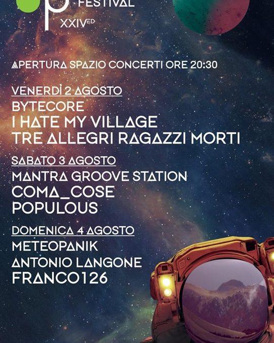 2, 3 e 4 agosto, il programma del Pollino Music Festival XXIV edizione