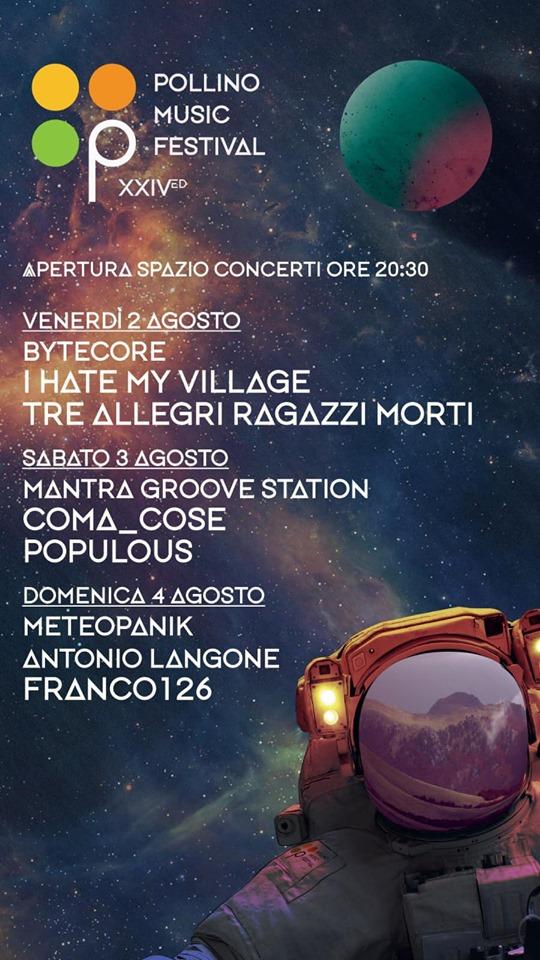 Pollino Music Festival 2019