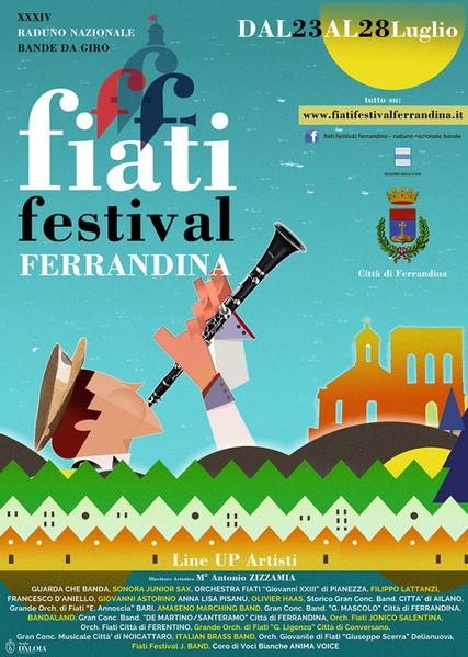 Fiati Festival Ferrandina, sei giorni di musica dal 23 al 28 luglio