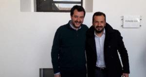Il Sen. Pasquale Pepe con Matteo Salvini