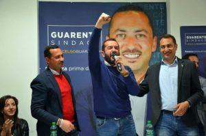 Il sen. Pepe con il sindaco di Potenza, Mario Guarente, e l'assessore regionale Francesco Fanelli