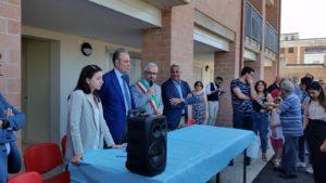 L'intervento del sindaco Santoro alla cerimonia