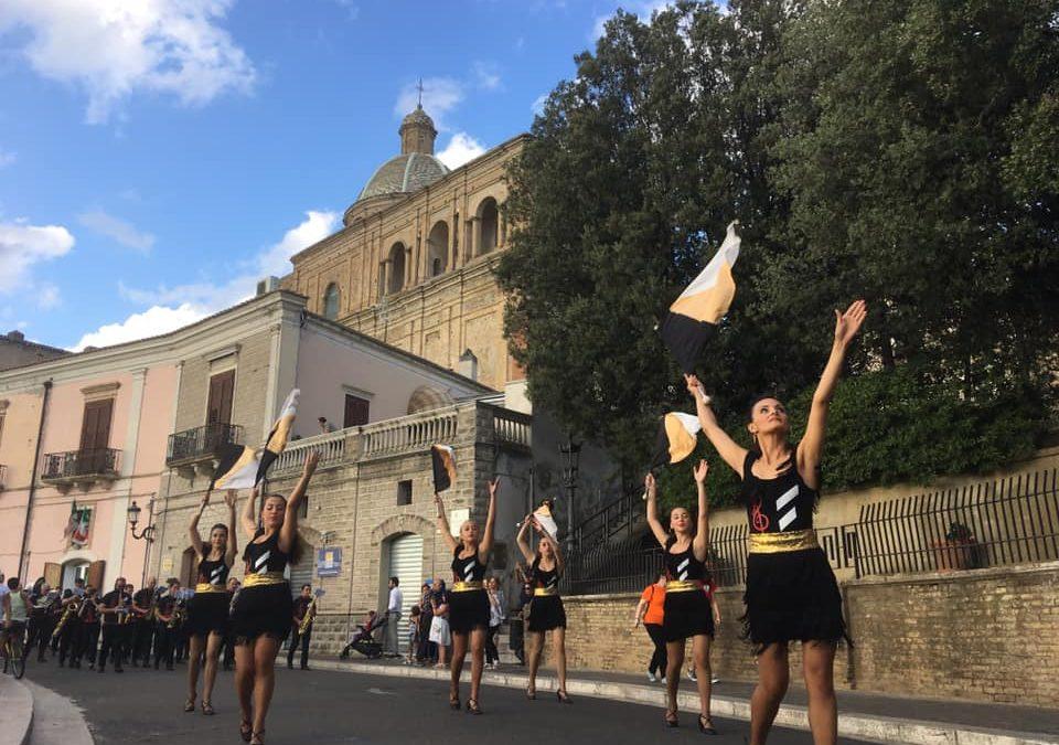 Fiati festival Ferrandina, l'inno di Mameli chiude  sei giorni di concerti con mille musicisti arrivati da tutta Italia