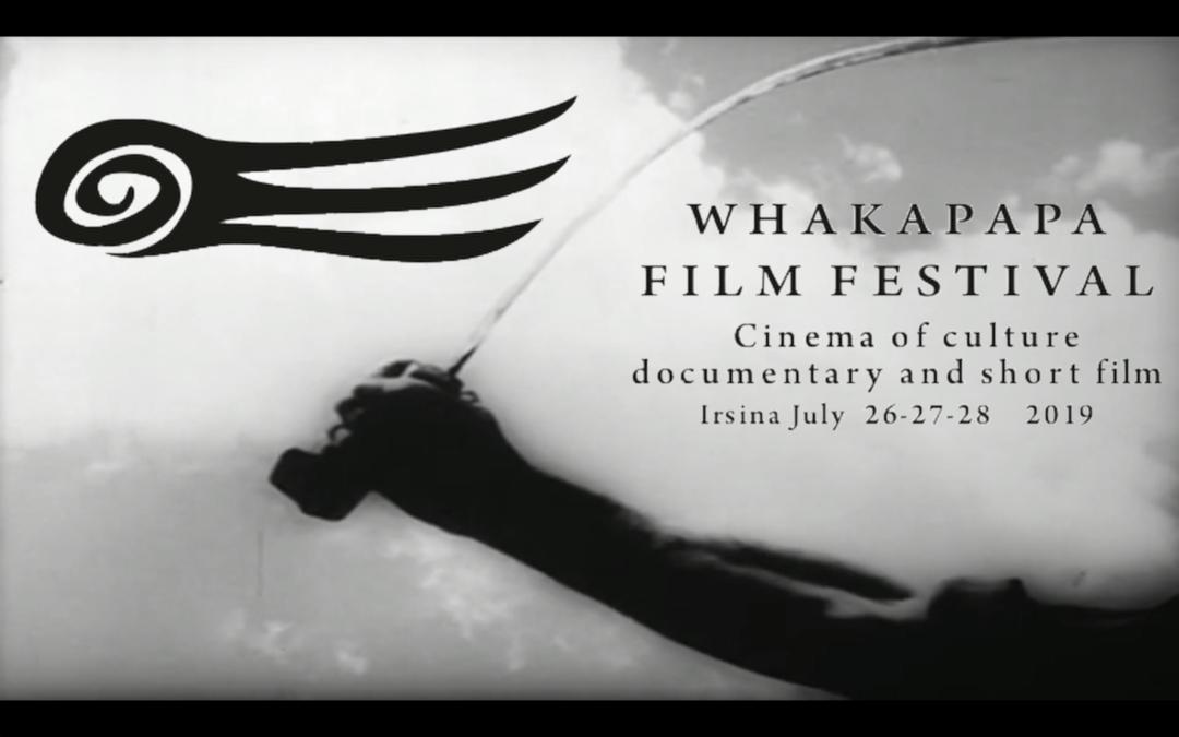 26,27 e 28 Luglio a Irsina la seconda edizione del Whakapapa Film Festival