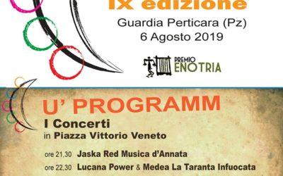 """6 Agosto a Guardia Perticara la nona edizione della """"Notte della Tarantella Lucana"""""""