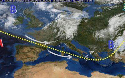 Previsioni meteo in Basilicata dal giorno 16 al 20 Agosto (a cura di Meteo7.it)