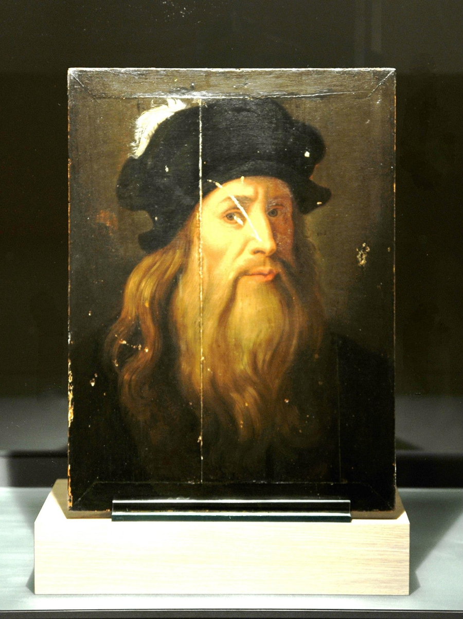 L'autoritratto attribuito a Leonardo da Vinci