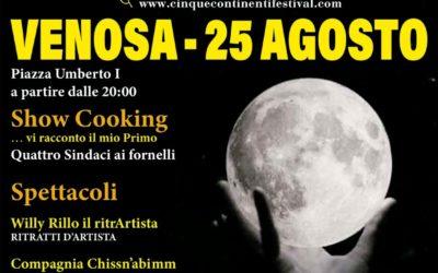 A Venosa il 25 agosto la XV edizione del Festival dei Cinque Continenti