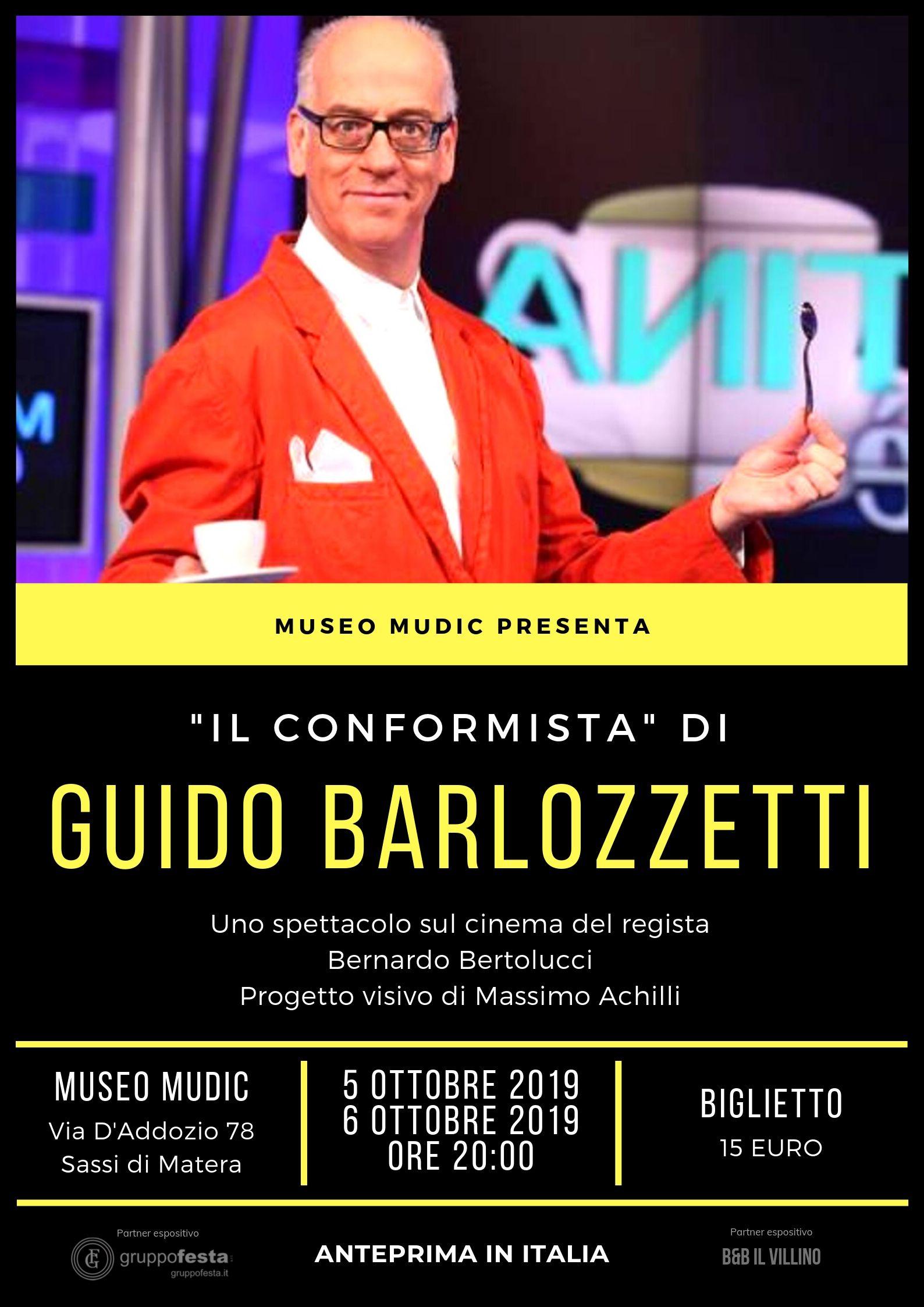 """""""Il Conformista"""" di Guido Barlozzetti"""