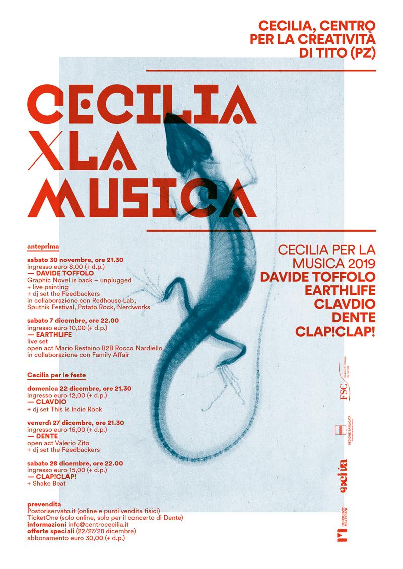 Cecilia per la musica 2019