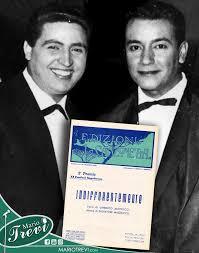 Mario Trevi con Umberto Martucci