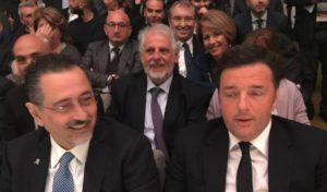 Matteo Renzi e Marcello Pittella