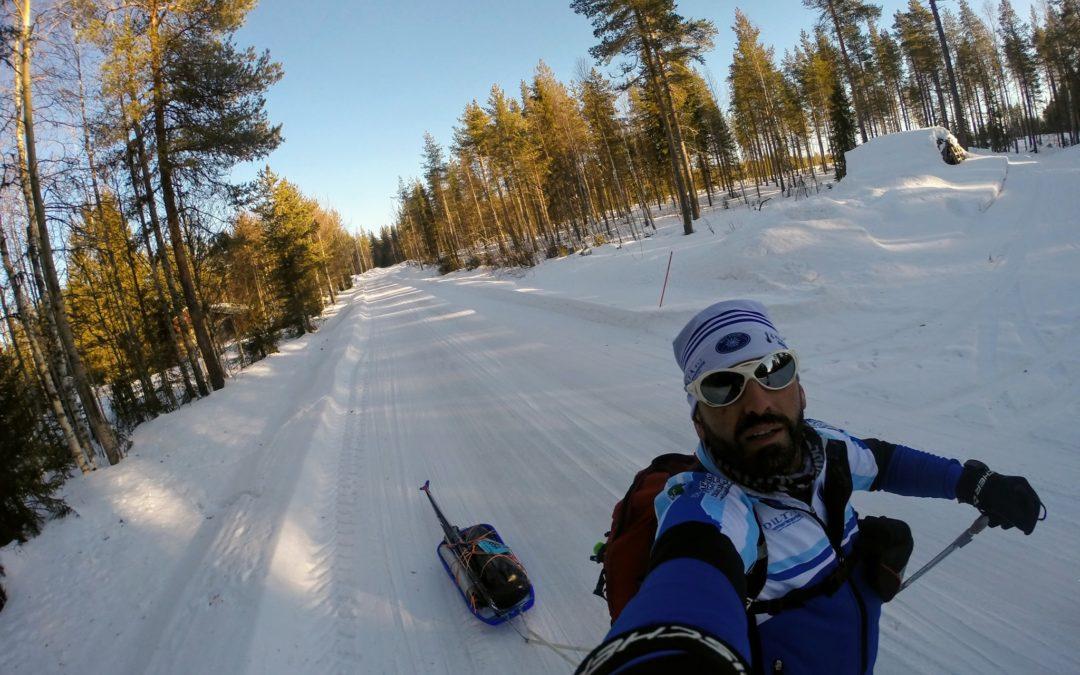 Da Terranova alla Finlandia: 4 giorni e 6 ore per realizzare un sogno in Lapponia
