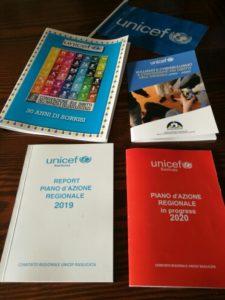le pubblicazioni Unicef Basilicata
