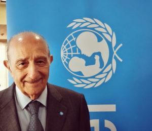 Francesco Samengo, Presidente nazionale Unicef
