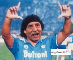 Il Presidente Vito Bardi ai tempi di Maradona (fotomontaggio)