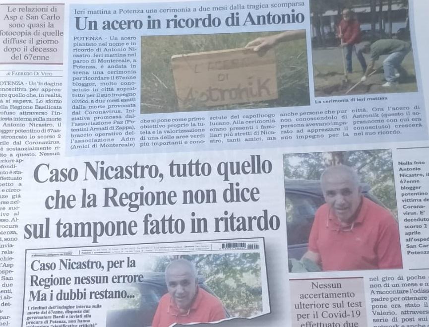 Antonio e La Nuova: questione di metodo, non di merito. Oggi possiamo parlarne.