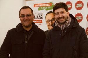 Antonello Molinari e Roberto Speranza