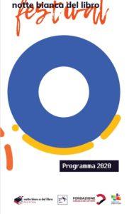 Il logo della Notte Bianca del libro 2020