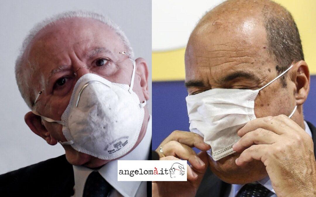 INDISCREFLASH: Lazio al voto a Natale, Zingaretti ministro, De Luca segretario PD?