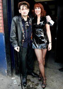 Vittoria Marye Clark e il marito Shane Mac Gowan