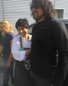 Felicetta Colucci con Alessandro Borghese