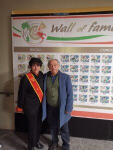 Felicetta Colucci con Angelomauro Calza
