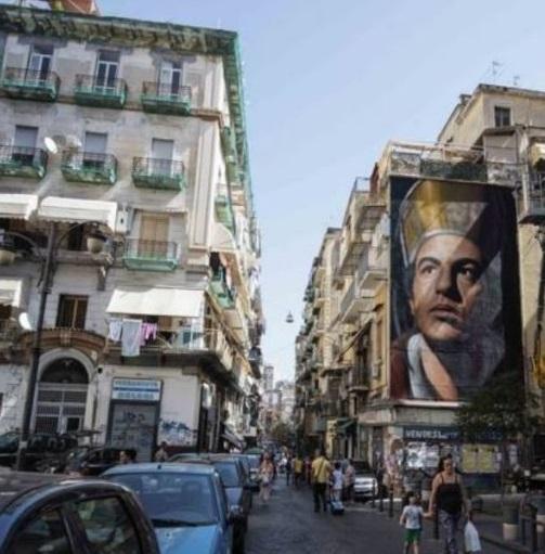 Napoli, tampone sospeso al rione Sanità