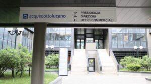 La Sede di Acquedotto Lucano a Potenza