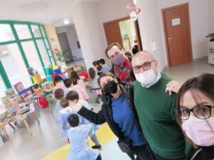 alcune componenti dell'Associazione volontari Scuola di Tito