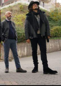 Antonio Spadone con Alessandro Borghese
