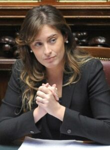 L'on. Maria Elena Boschi