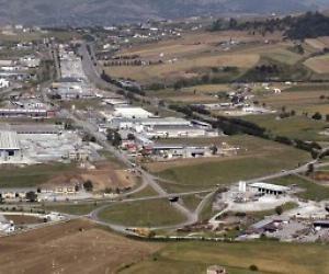 la zona industriale di Tito
