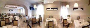 un angolo del ristorante D'Avalos di Venosa