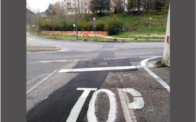 """Forse lo stop è al top, ma pare tropp e bisogna metterci """"na' topp'"""""""