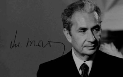 """Aldo Moro: """"Una intelligenza acuta e pensosa""""."""
