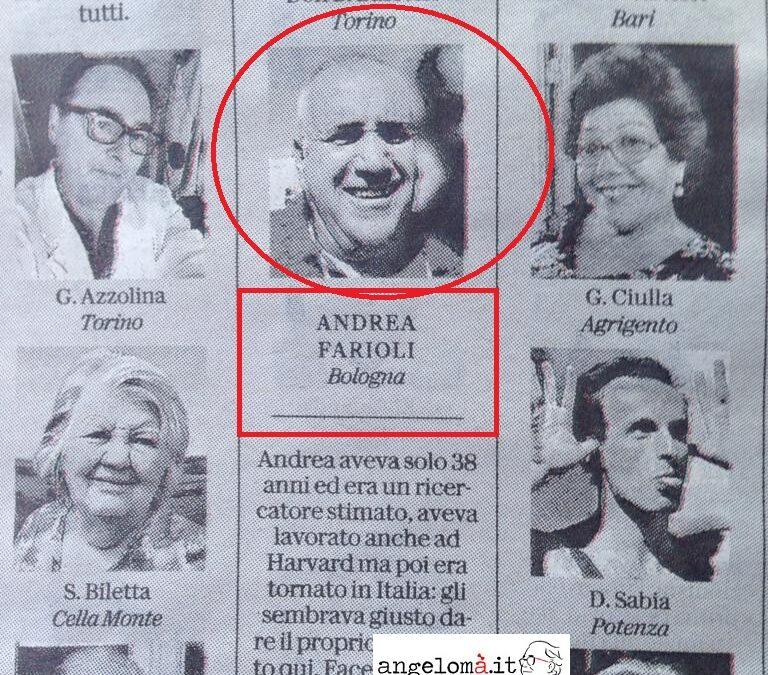 Povero Astronik: Repubblica gli dedica una foto, ma il necrologio era destinato a un altro